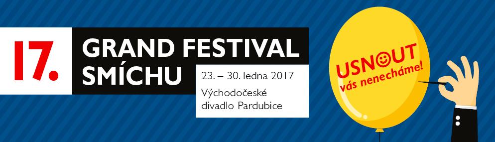 V Pardubicích startuje 17. ročník GRAND Festivalu smíchu