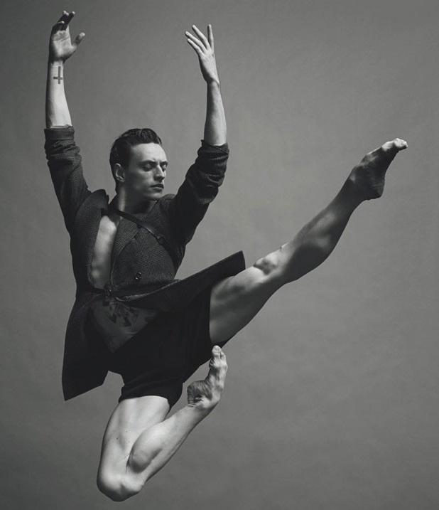Slavný tanečník Sergej Polunin vystoupí v Národním divadle