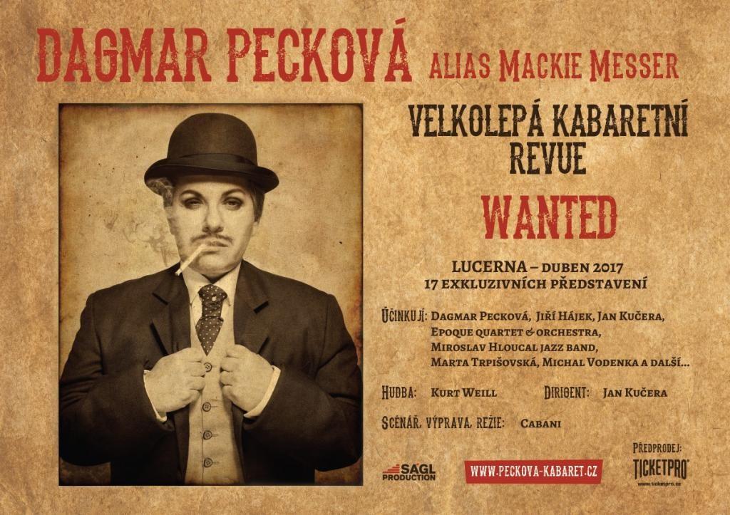 Pěvkyně Dagmar Pecková připravuje projekt písní Kurta Weilla