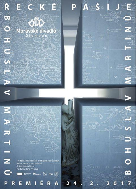 Moravské divadlo připravuje Řecké pašije, režisérem je Jan Antonín Pitínský