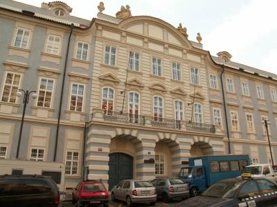 AMU má nové prostory v centru Prahy a používá nové logo