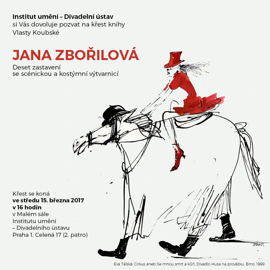 Vychází monografie Jany Zbořilové
