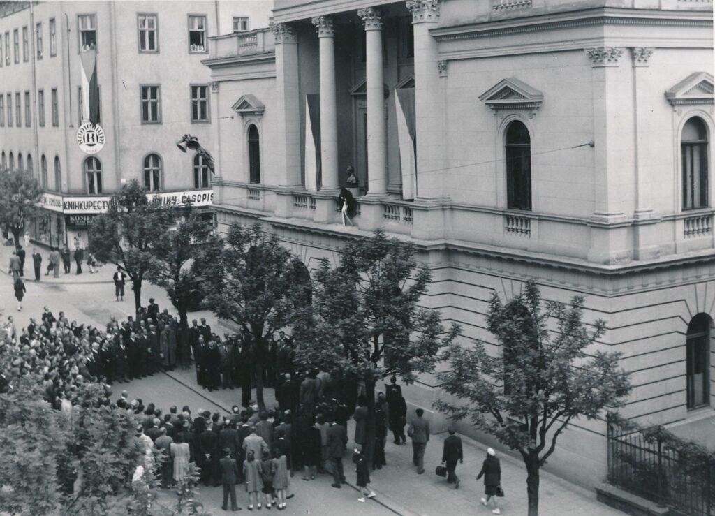 JAMU v Brně začíná slavit sedmdesát let od svého založení