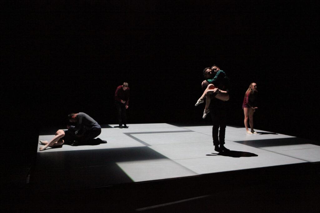 Nová inscenace Laterny magiky: současný tanec, multimédia, dynamika