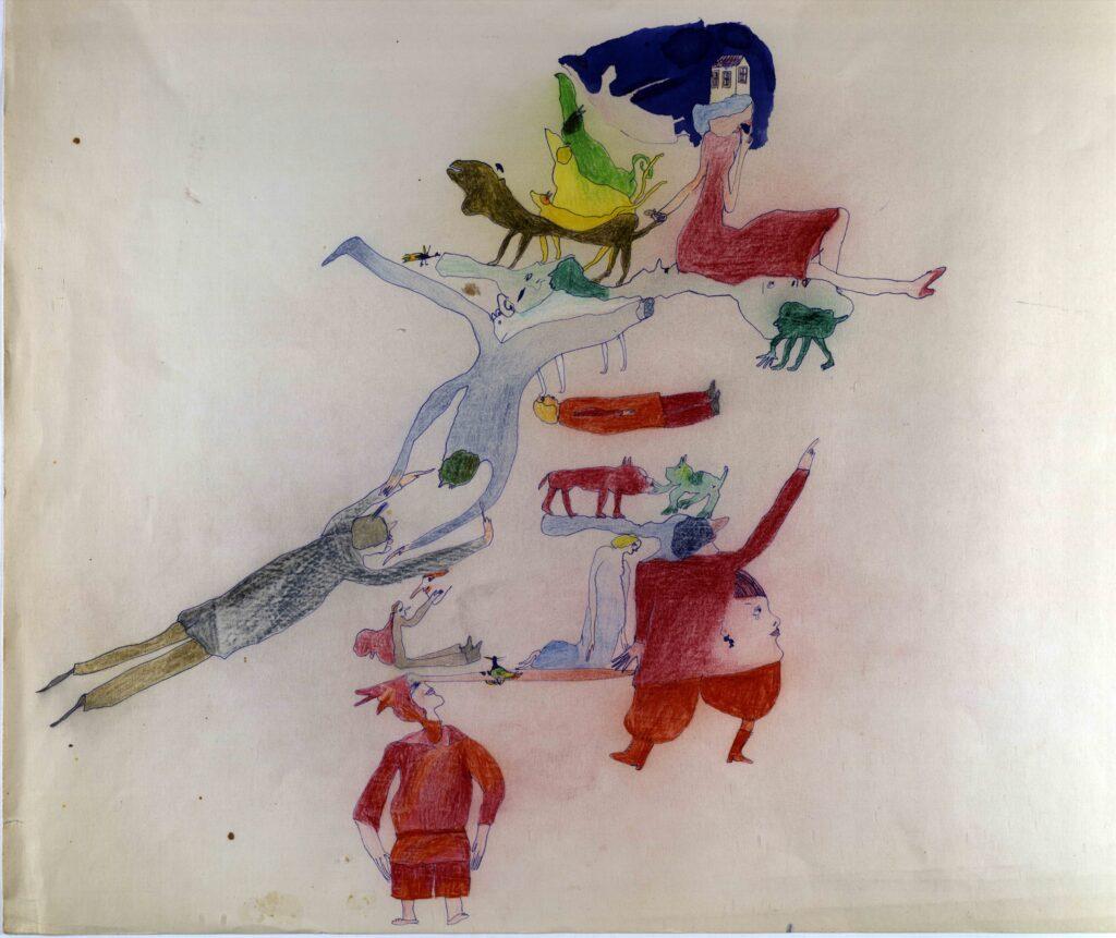 Muzeum loutkářských kultur v Chrudimi vystavuje kresby loutkářky Věry Říčařové