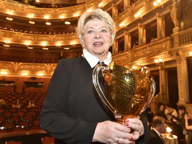 V Národním divadle v Praze byly dnes předány ceny Thálie za rok 2016
