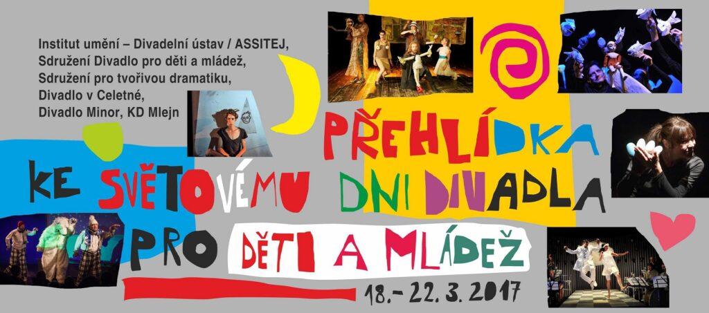 Pozvánka na diskuse v rámci Přehlídky ke Světovému dni divadla pro děti a mládež