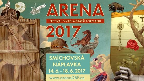 Divadlo Bratří Formanů zakládá nový festival Arena 2017