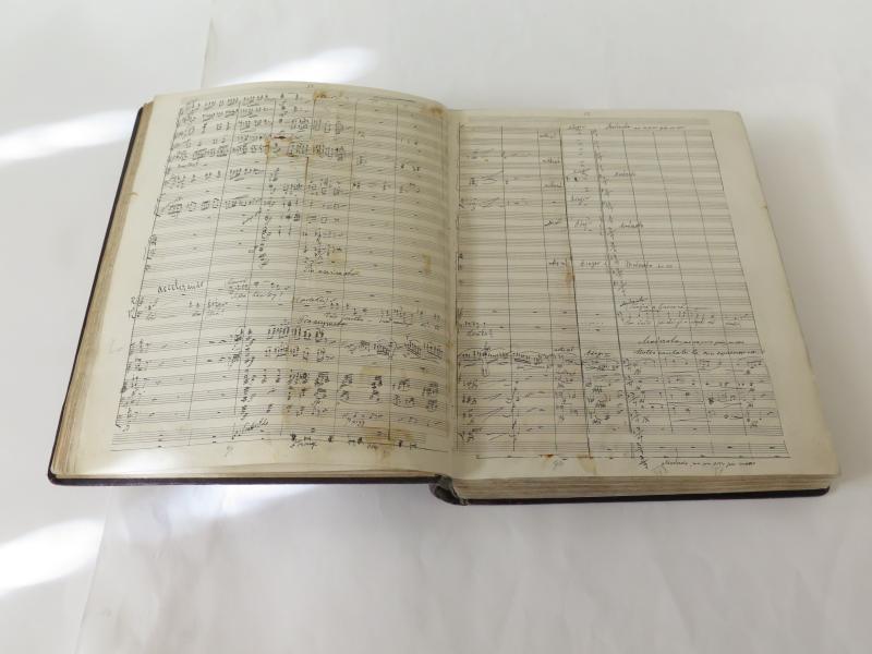 V Českém muzeu hudby bude k vidění originál partitury Dvořákovy Rusalky