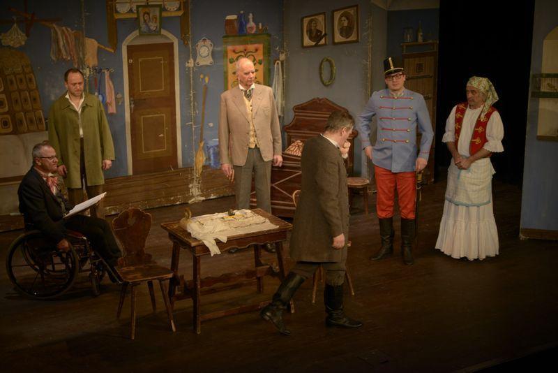 Cimrman English Theatre uvede inscenaci Záskok v New Yorku, Washingtonu a Baltimoru
