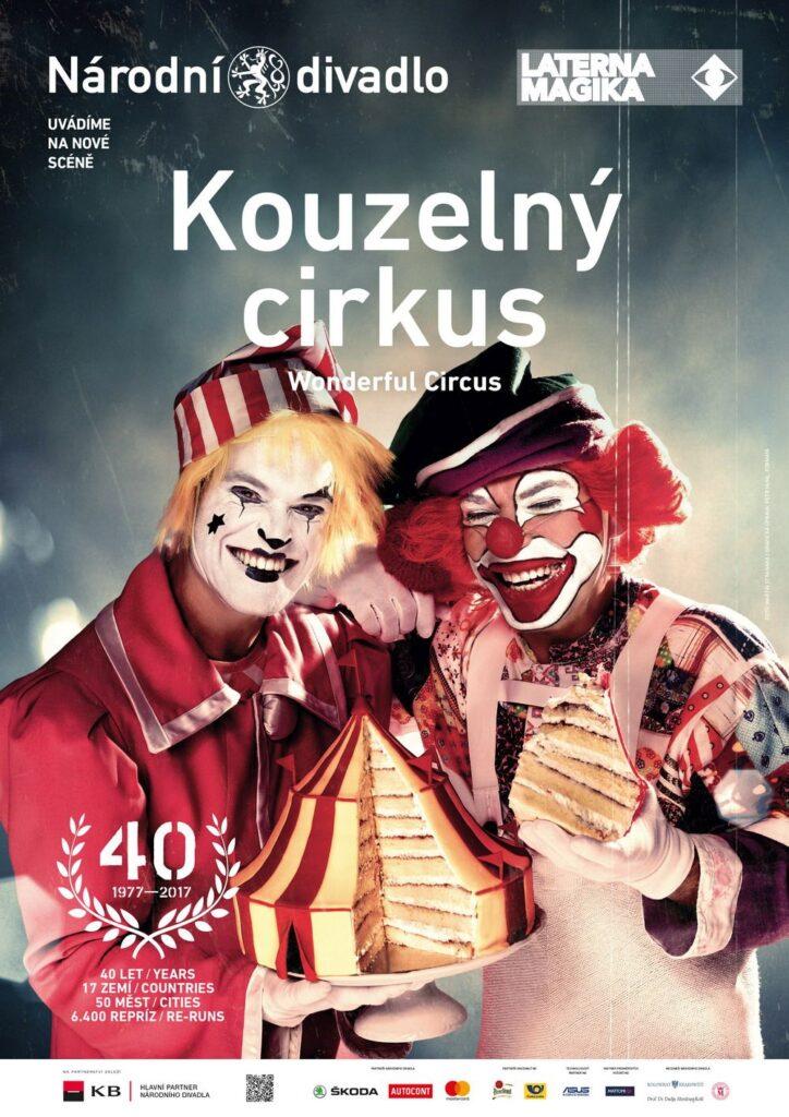 Kouzelný cirkus Laterny magiky se hraje 40 let