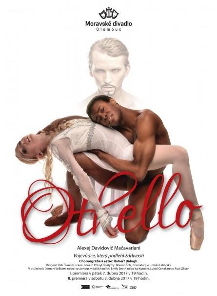 Balet Moravského divadla Olomouc uvede další Shakespearovu tragédii
