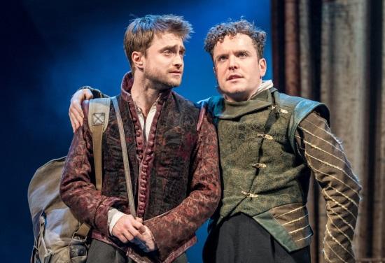 Daniel Radcliffe se představí v komedii Toma Stopparda Rosencrantz a Guildenstern jsou mrtvi