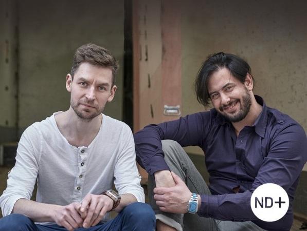 Setkání s Martinem Kukučkou a Lukášem Trpišovským v rámci cyklu ND Café