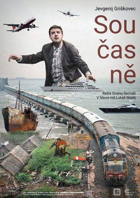 Hra ruského spisovatele, herce a dramatika Jevgenie Griškovce v Horáckém divadle