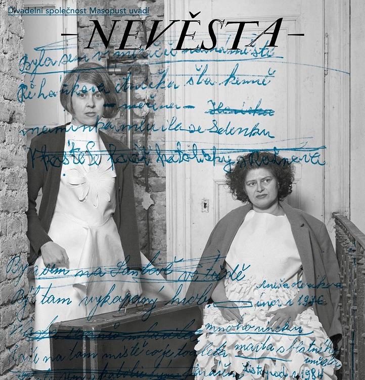 Hru Nevěsta uvede společnost Masopust v Divadle Komedie