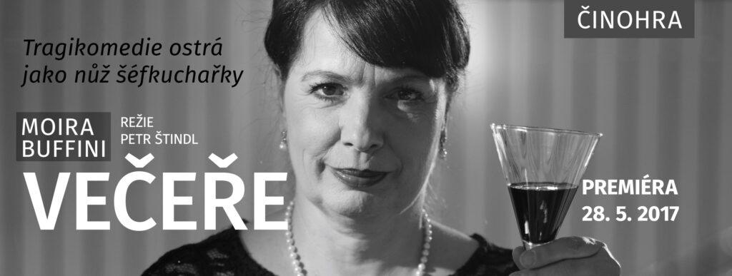 Slezské divadlo v Opavě chystá tragikomedii Večeře současné anglické dramatičky Moiry Buffiniové
