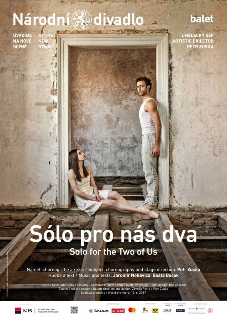 Petr Zuska se rozloučí s Národním divadlem inscenací Sólo pro nás dva