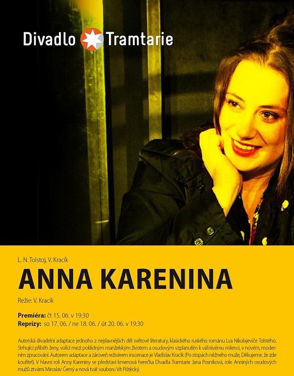 Divadlo Tramtarie zkouší Annu Kareninu, největší titul sezony