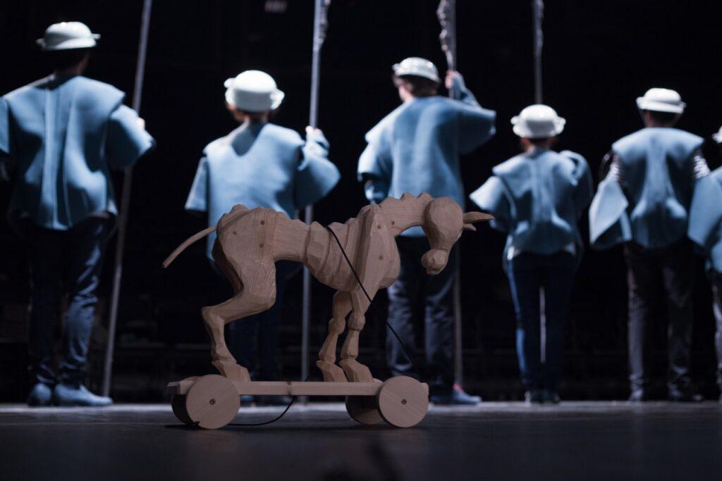 Tři podoby svobody jdou do finále. Projekt zakončí květnové derniéry inscenací Kopanec a Don Quijote v Činoherním studiu