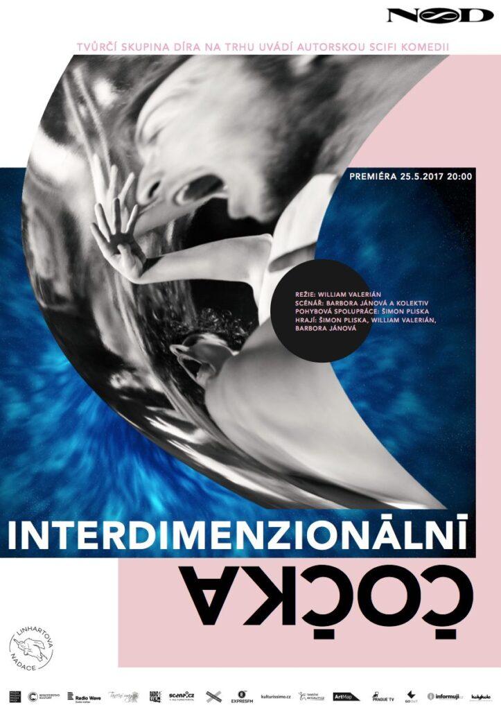 Premiéra inscenace Interdimenzionální čočka v Divadle NoD