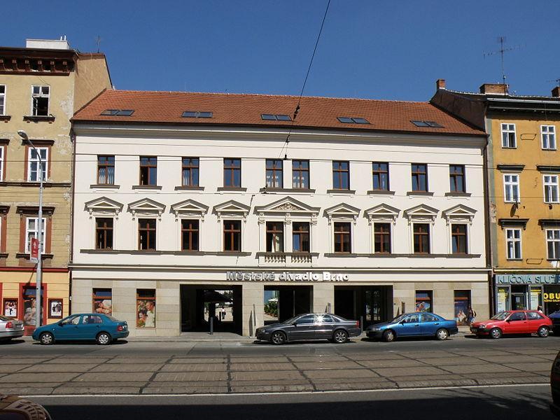 Brno připravuje rekonstrukci objektu se zázemím a rekvizitárnou Městského divadla Brno