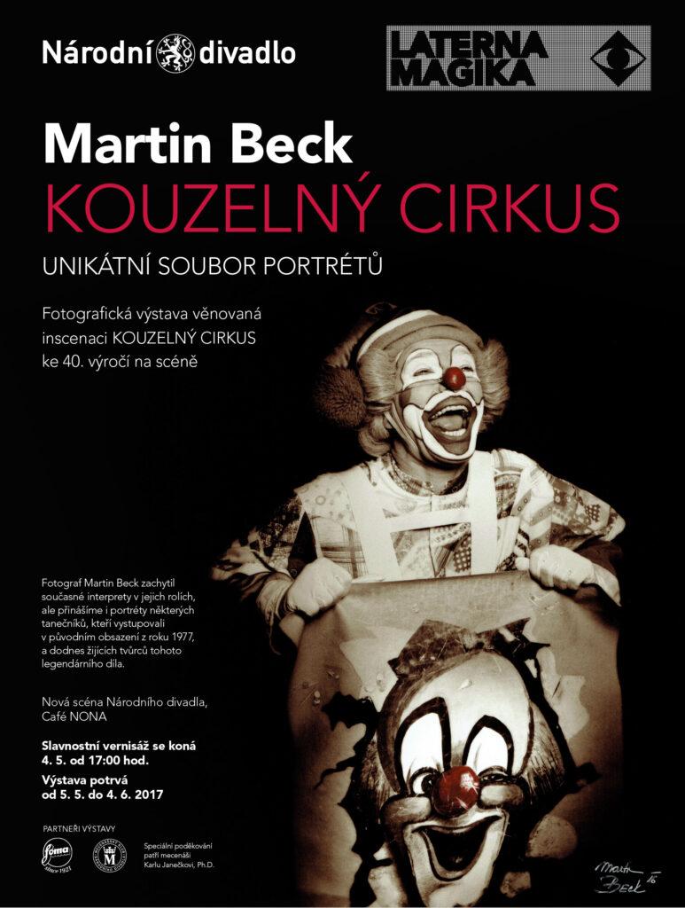 """Fotografická výstava """"Martin Beck: Kouzelný cirkus"""" završí výročí"""
