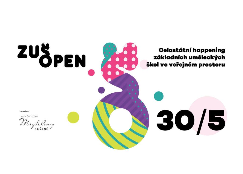 Celostátní happening základních uměleckých škol ZUŠ Open nabídne na konci května umění v ulicích
