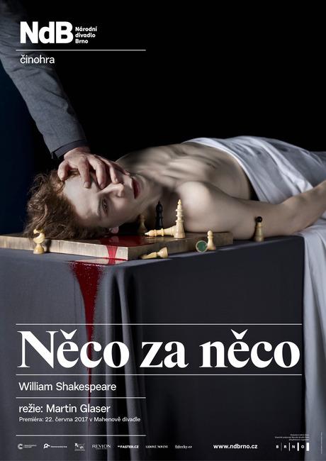 Národní divadlo Brno nachází v Shakespearově hře Něco za něco paralely s dneškem