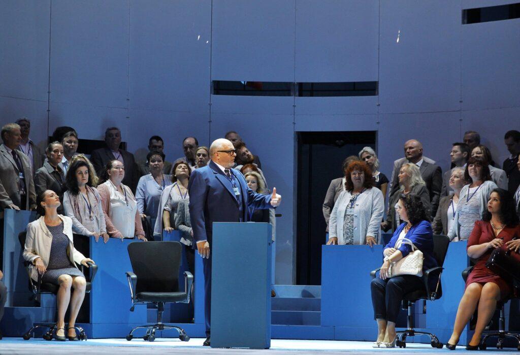 Orfeus v podsvětí Národního divadla bude parodií na Evropskou unii