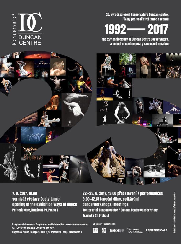 Taneční konzervatoř Duncan centre slaví 25 let, studenti zatančí v ulicích