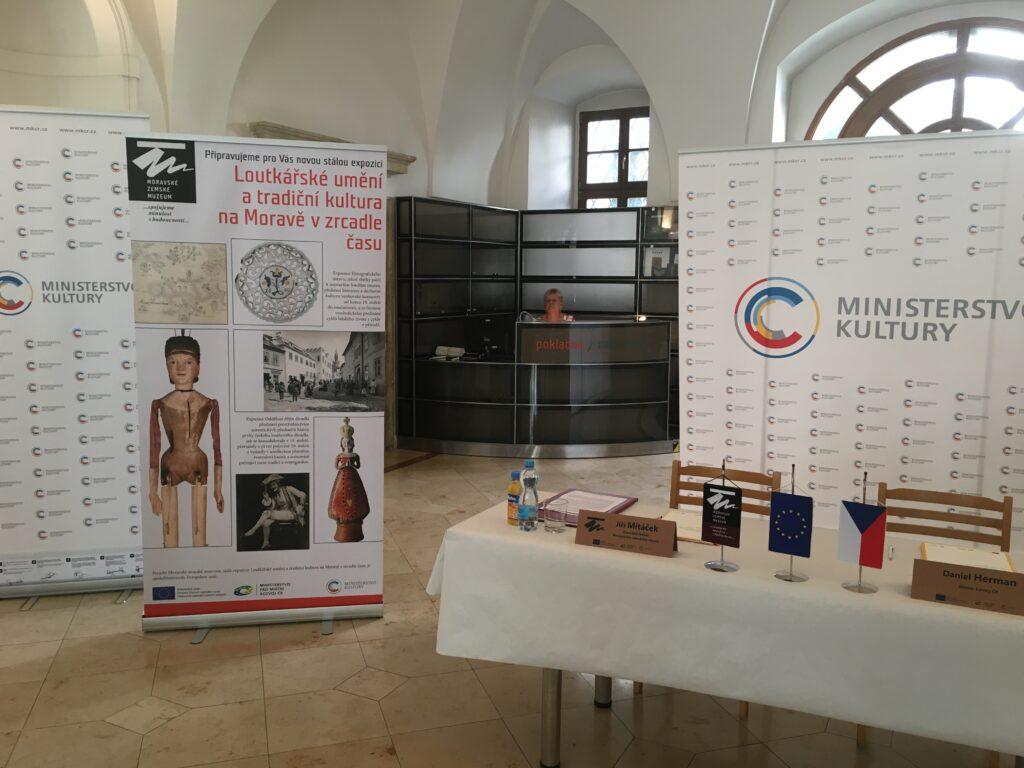 Moravské zemské muzeum vybuduje expozici loutkářského umění a moravské tradiční kultury