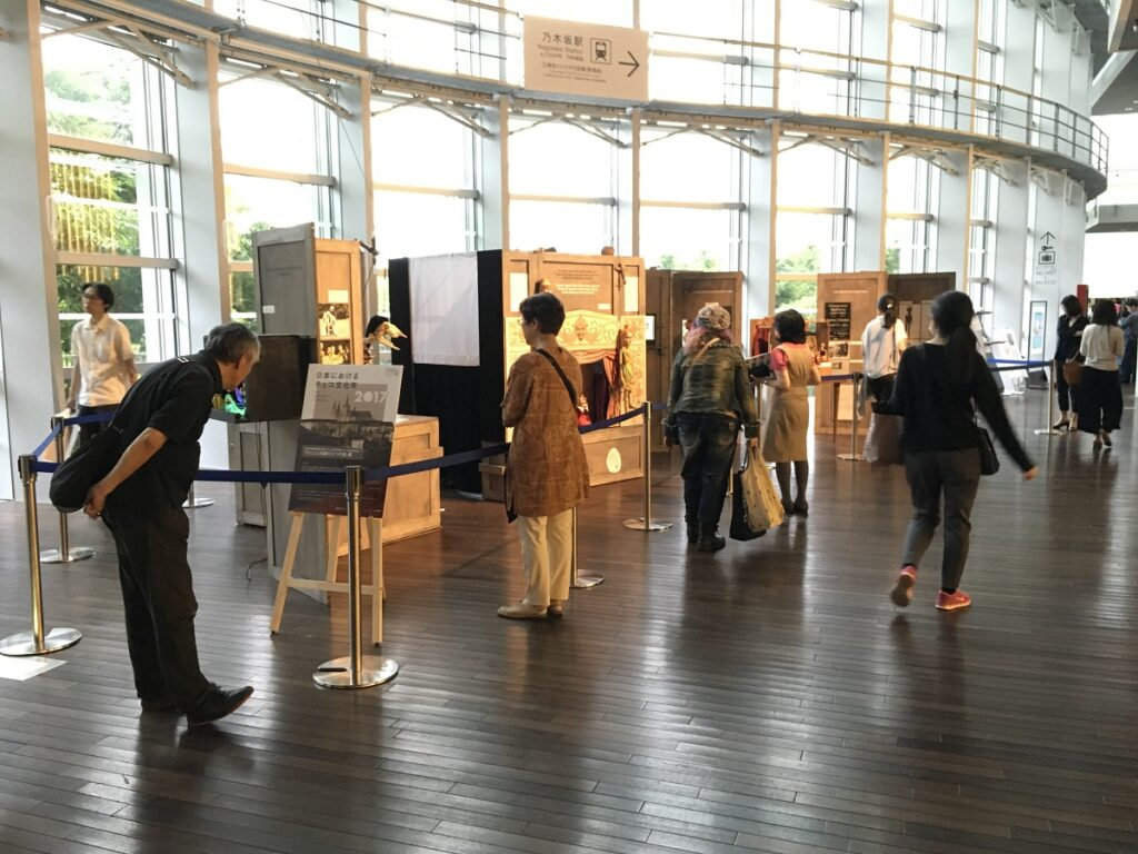 České loutky v Japonsku