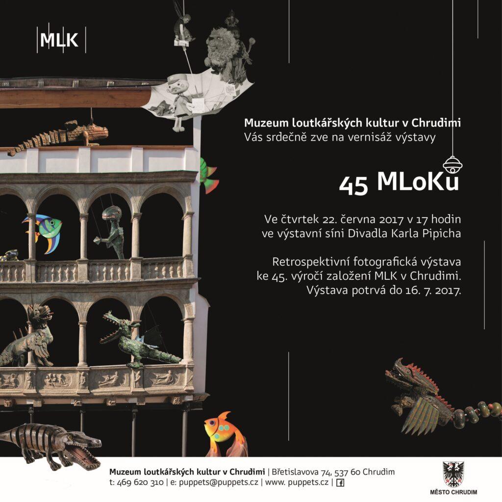 Muzeum loutkářských kultur v Chrudimi připravilo k 45. výročí svého založení retrospektivní výstavu