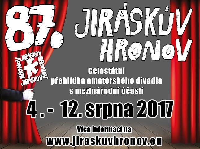 Jiráskův Hronov nabízí to nejlepší z amatérského divadla