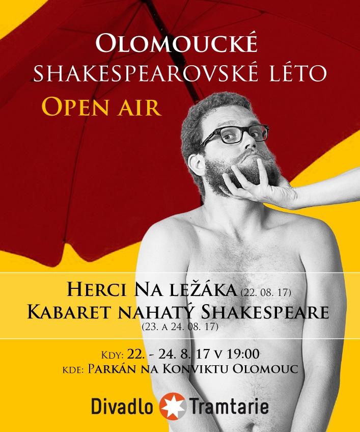 Olomouc čeká festival Olomoucké shakespearovské léto