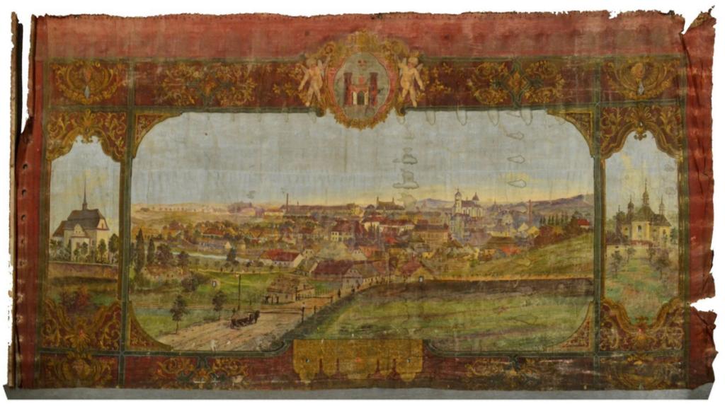 Muzeum v Havlíčkově Brodě nechá zrestaurovat divadelní oponu z roku 1855