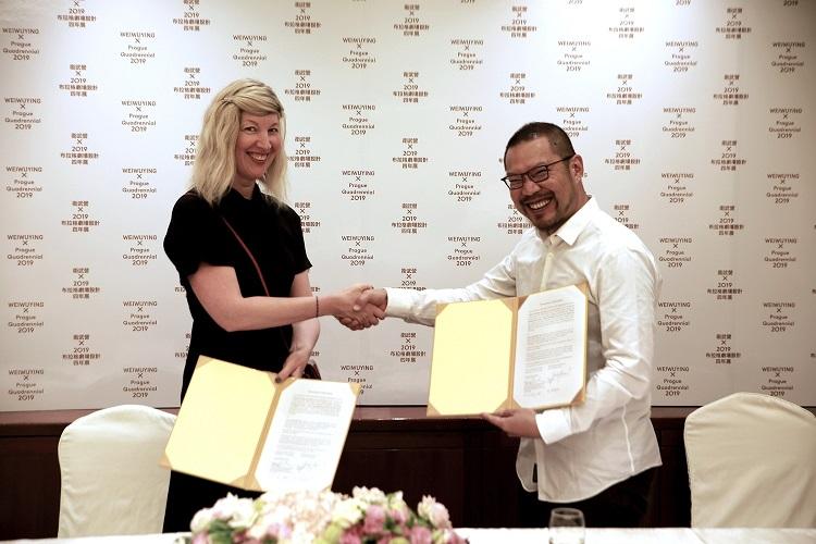 Zástupci realizačního týmu PQ navštívili mezinárodní oborovou výstavu World Stage Design v Taipei