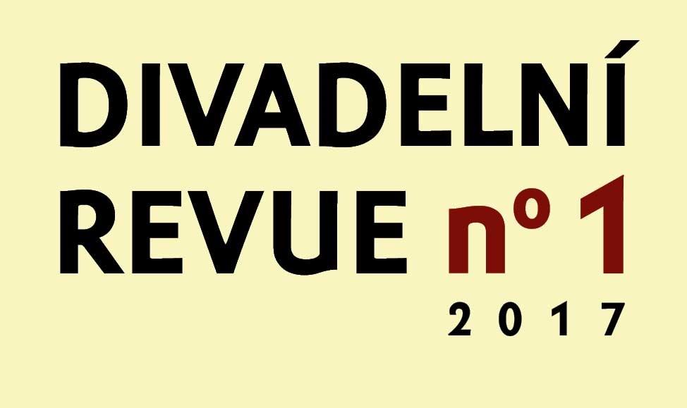Vychází Divadelní revue 1/2017