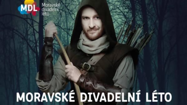 Festival Moravské divadelní léto nabídne open-air uvedení populární inscenace Robin Hood i hosty z Bratislavy