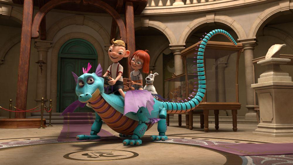 První publikum vidělo animovaný film s Hurvínkem a Spejblem