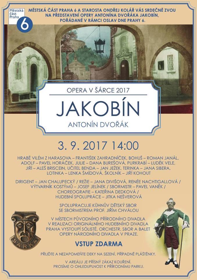 Přírodní divadlo v Šárce uvede podruhé Dvořákovu operu Jakobín