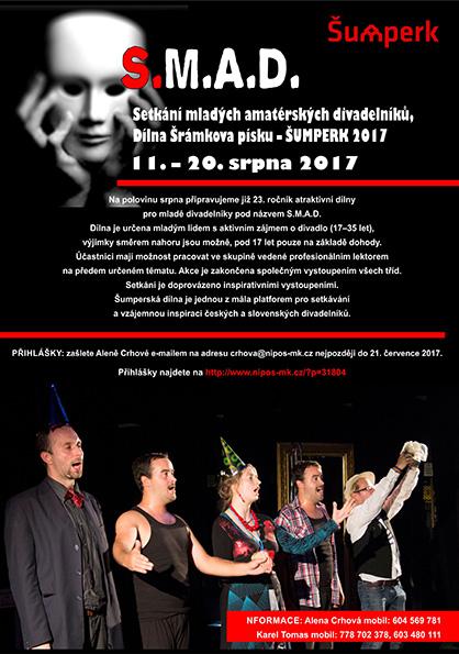 Setkání mladých amatérských divadelníků v Šumperku