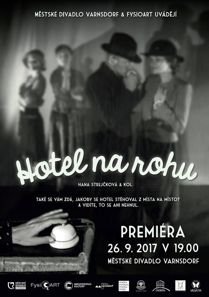 Městské divadlo Varnsdorf otevře novou divadelní sezónu původní divadelní hrou Hotel na rohu