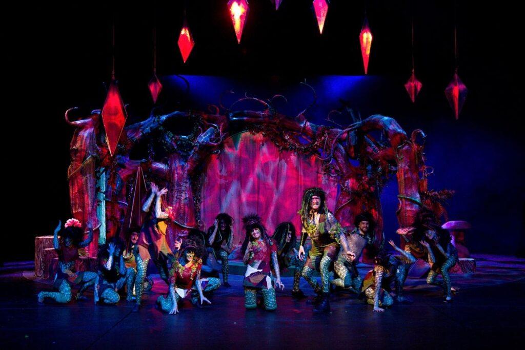 Zahrada divů – pohádkový muzikál v Divadle J. K. Tyla