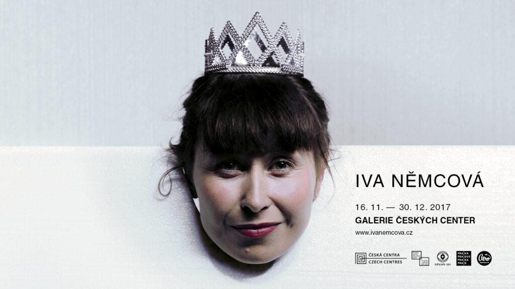 Pozvánka na výstavu Iva Němcová