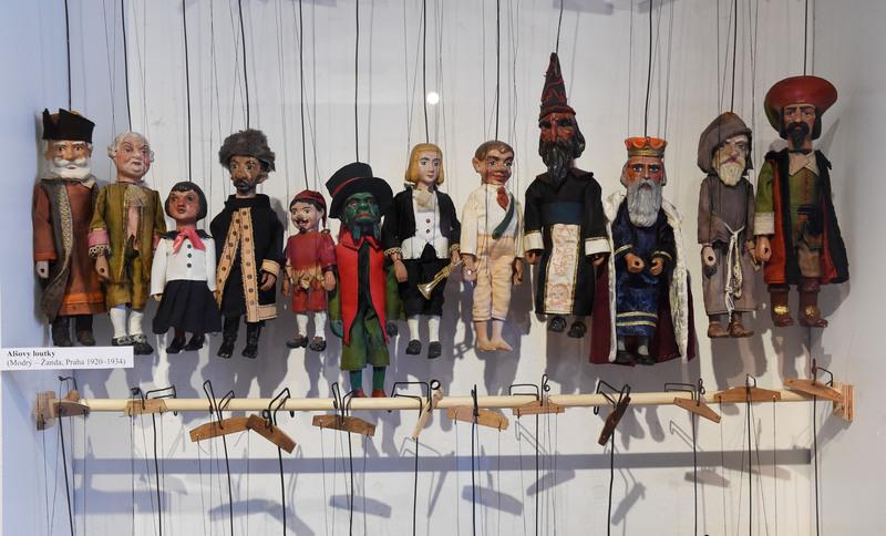 Olomoucké muzeum zaplnily loutky