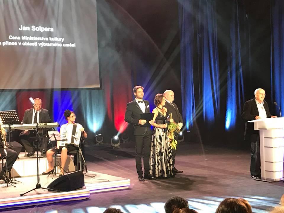 Daniel Herman předal Státní ceny a Ceny Ministerstva kultury pro rok 2017