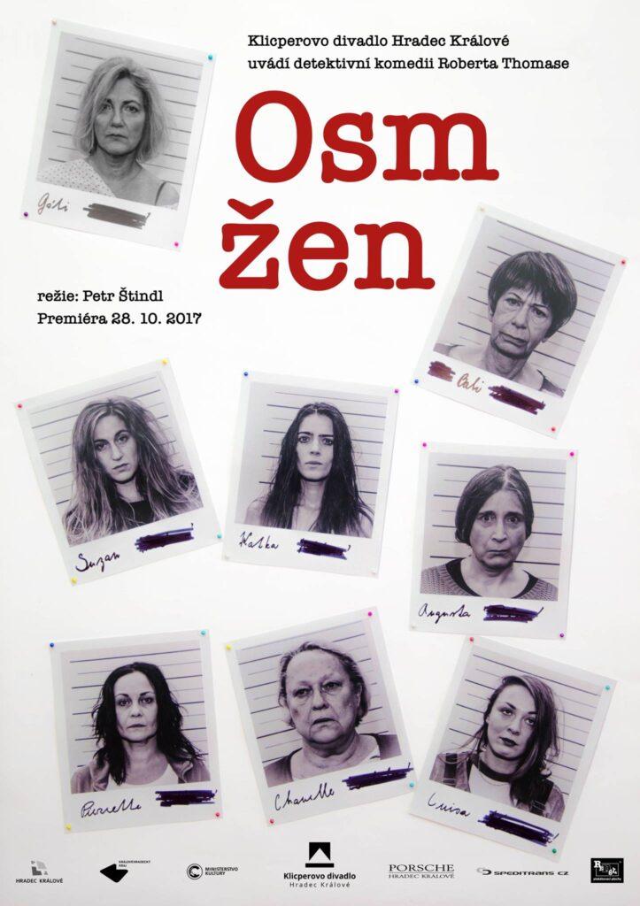 Klicperovo divadlo uvede detektivní komedii Osm žen v režii Petra Štindla