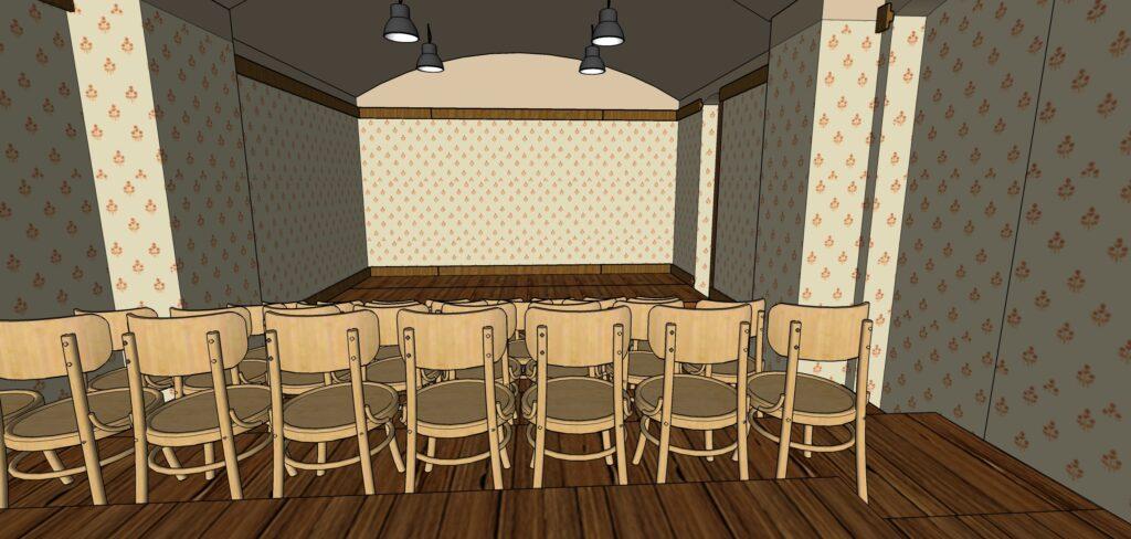 Spolek Kašpar otevře nový komorní prostor v Jindřišské ulici
